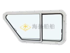 铝制风雨密双移窗