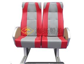 铝制双人客轮座椅